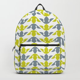 Gray & Gold Backpack