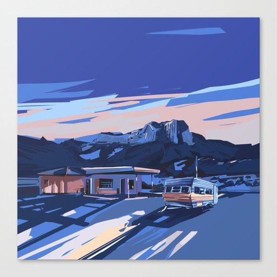 american landscape 3 Canvas Print