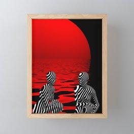 talking Framed Mini Art Print