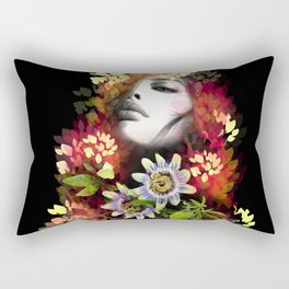 Passion Flowers Rectangular Pillow