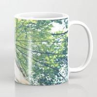birch Mugs featuring Birch by nadja-elli