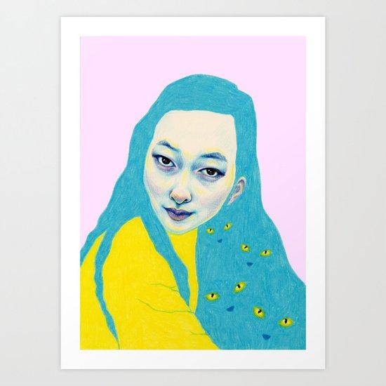 Lulu Art Print