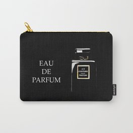 Black Parfum on black Carry-All Pouch