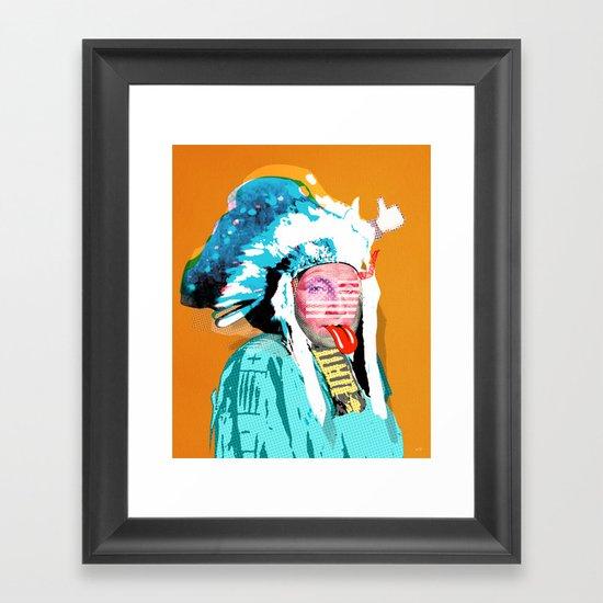 Indian Pop 95 Framed Art Print
