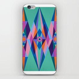 Sacred Geometric Triad iPhone Skin