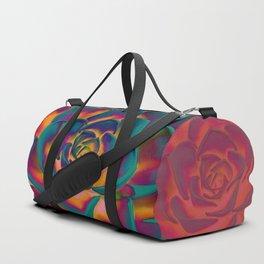 """""""Exotic Succulent Pop Art"""" Duffle Bag"""