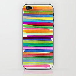 Colorful Stripes 1 iPhone Skin