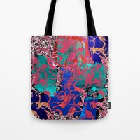 jazz Tote Bags featuring Jazz by Lara Gurney