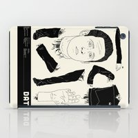 data iPad Cases featuring Decommissioned: Data by Josh Ln