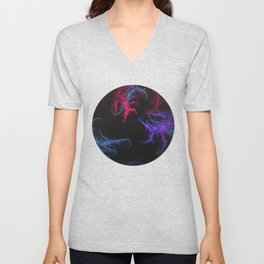 Cool Winds Abstract Unisex V-Neck