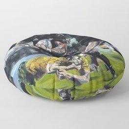 All Blacks Floor Pillow