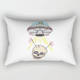 SKULL AND SAUCER Rectangular Pillow