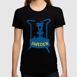 Sweden | Brass Pressure Stove T-shirt