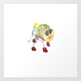 Piggy`s Wife ;) Art Print