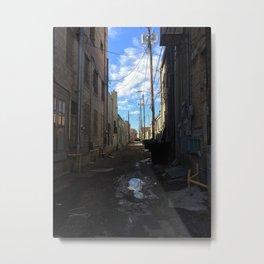 Alley, Albuquerque Metal Print