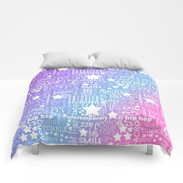 Dance Obsession Comforters
