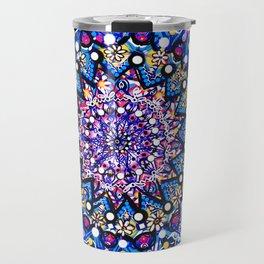 Orb Weaver Mandala Travel Mug