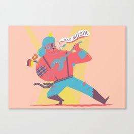 Das Musik Canvas Print