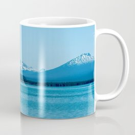 Visit Oregon // Amazing State with Incredible Scenic Views of Blue Lakes and Snowy Peaks Coffee Mug