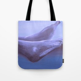 Landscape with Feet Tote Bag