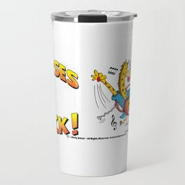 Nurses Rock Side by Side Travel Mug