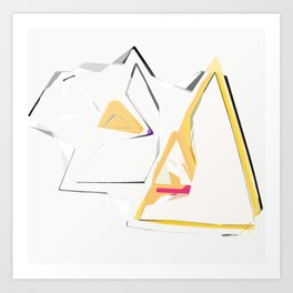 Triangle Abstract Art Print