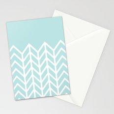 TIFFANY CHEVRON Stationery Cards