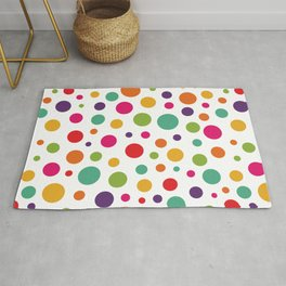 Jolly Colorful Dots Rug