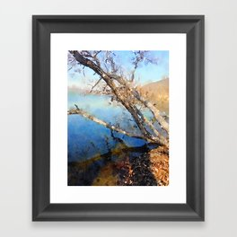 """Lakeside"" Framed Art Print"