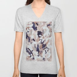 Skylar Abstract Unisex V-Neck