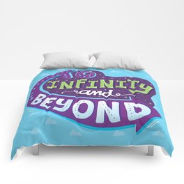 To Infinity And Beyond Comforters