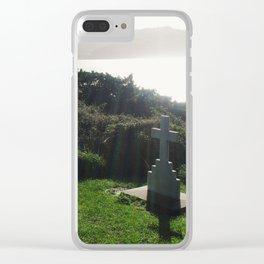 A Restful Spot Clear iPhone Case