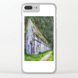 Northern Defence Barracks Clear iPhone Case