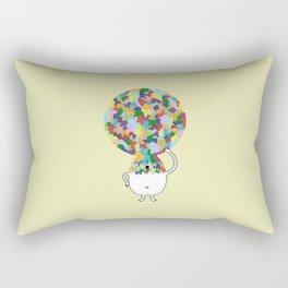 Dripping Rectangular Pillow