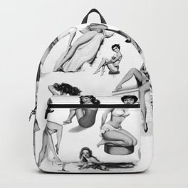 Pin Up Girls Backpack