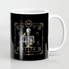 Death XIII Tarot Card Coffee Mug