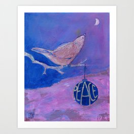 Peace Bird Art Print