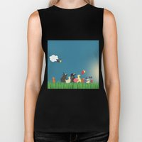 What's going on the farm? Kids collection Biker Tank