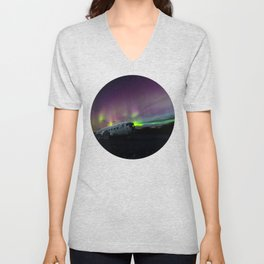 Northern Lights Unisex V-Neck
