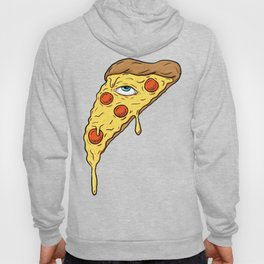 All Seeing Pizza Hoody