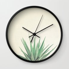 Haworthia Wall Clock
