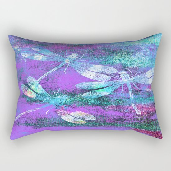 Mauritius Dragonflies WW Rectangular Pillow