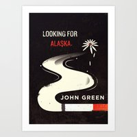looking for alaska Art Prints featuring Looking for Alaska by Risa Rodil