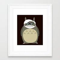 miyazaki Framed Art Prints featuring Miyazaki Tribute by Kororo
