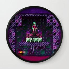 Metroid - Justin Bailey Wall Clock