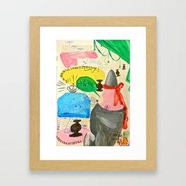 Horas altas Framed Art Print
