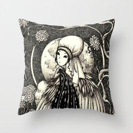 Harpy 1 Throw Pillow
