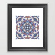Mandala 59 Framed Art Print