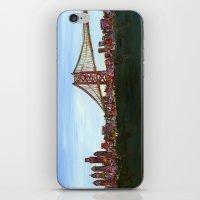 Ben Franklin Bridge iPhone & iPod Skin