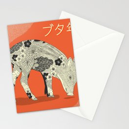 PIG YEAR Stationery Cards